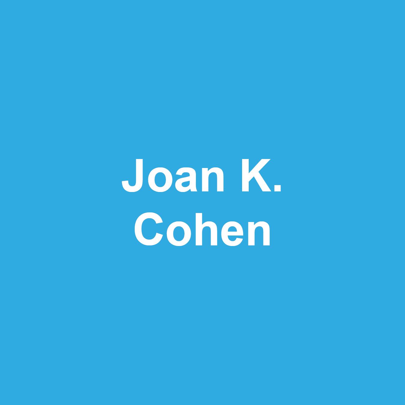Joan Cohen